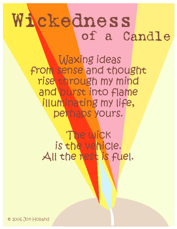 Wickedness of a Candle